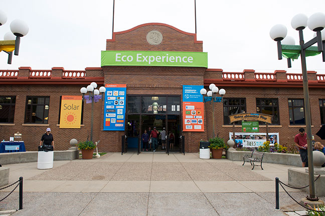 Eco Experience building exterior at the Minnesota State Fair